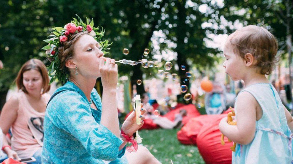 Большой городской пикник SelfMama DAY, выходные дни 28-29 июля