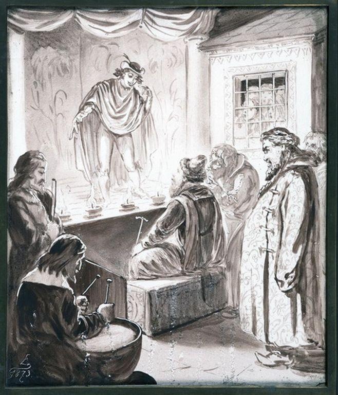 Выставка «Государевы потешники: театральная культура России XVII столетия»