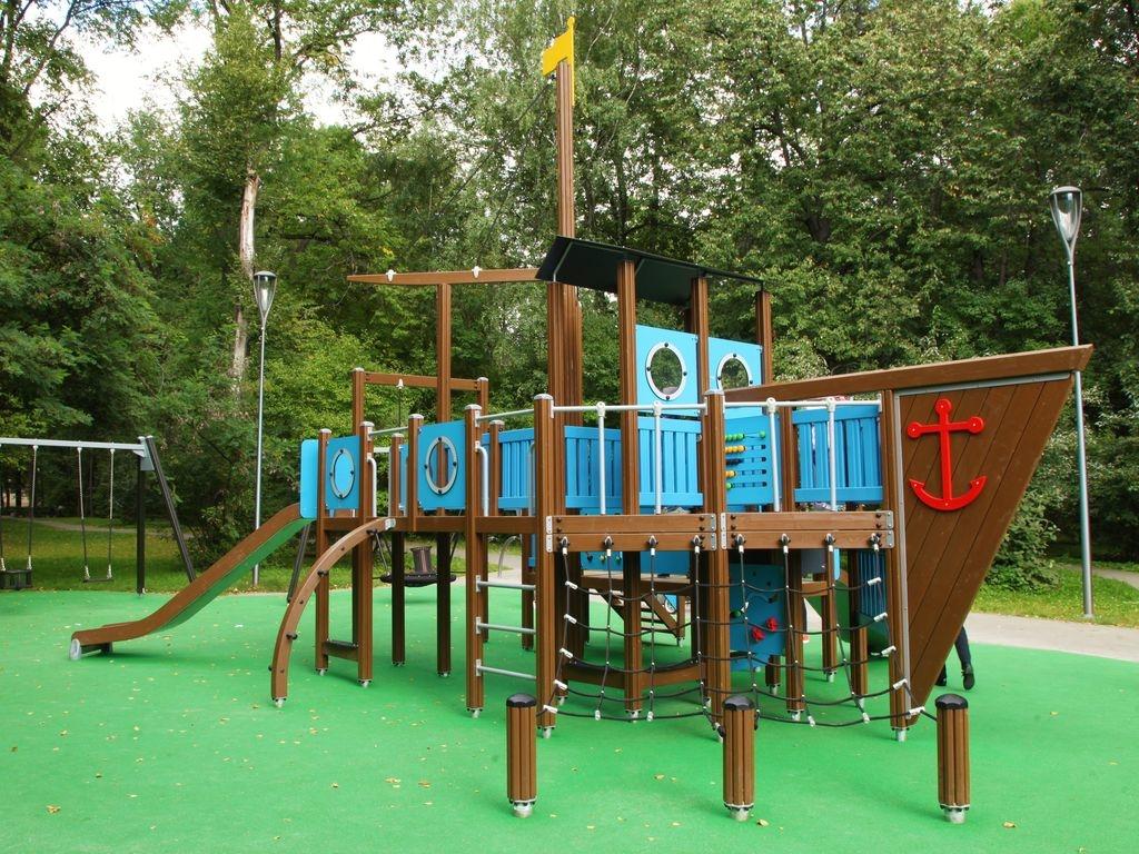 игровые комплексы в Измайловском парке,