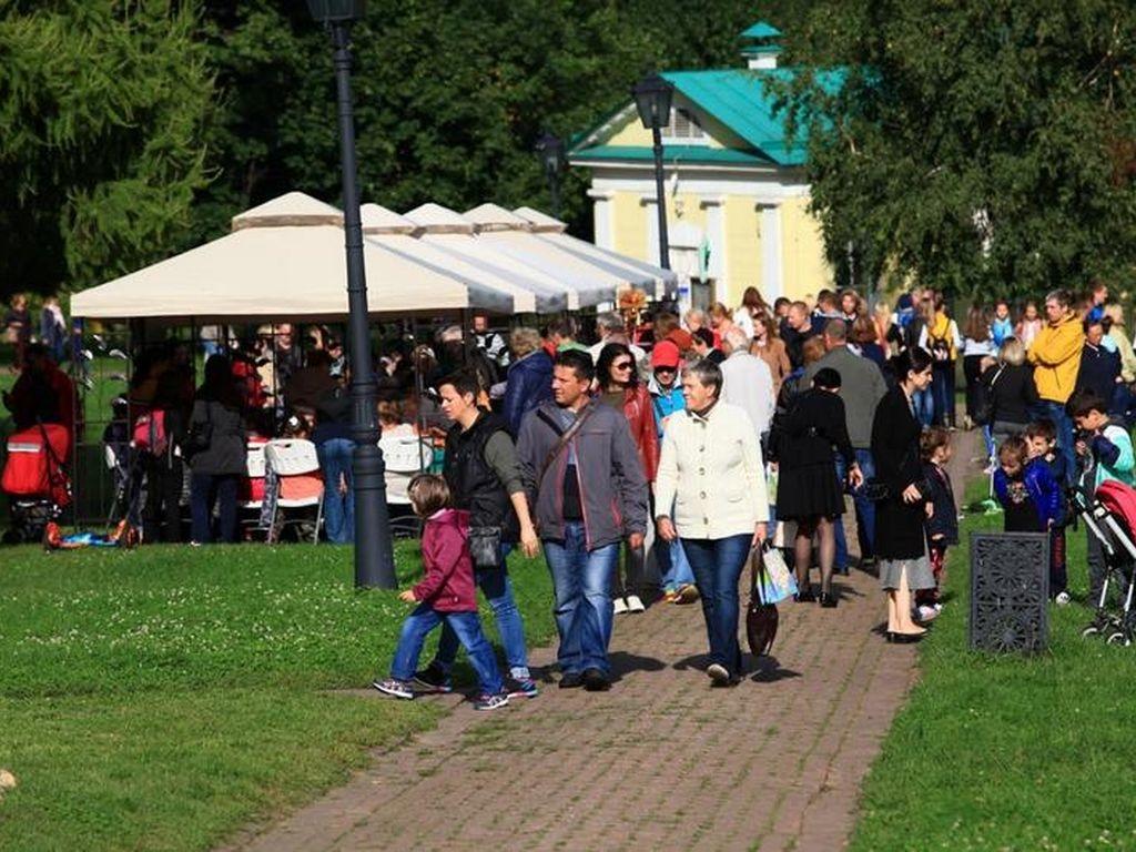 День города в музее-заповеднике Коломенское