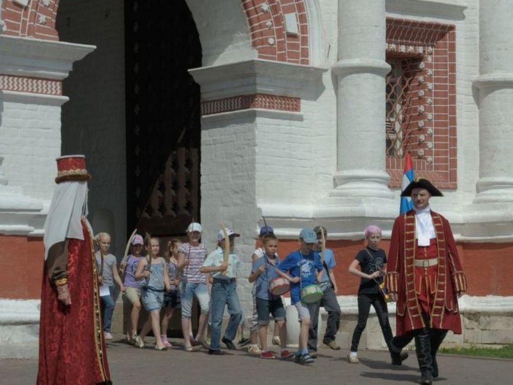 День знаний в Коломенском, Измайлово и Люблино