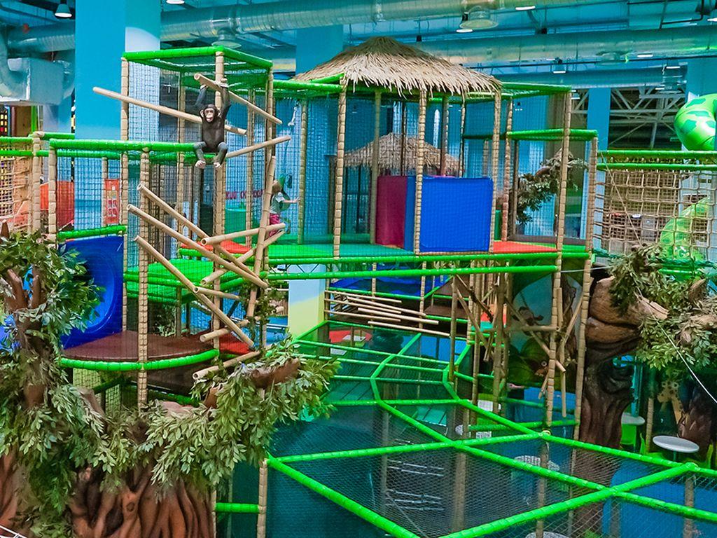парке и активного отдыха «Весёлые джунгли» весёлые джунгли с детьми