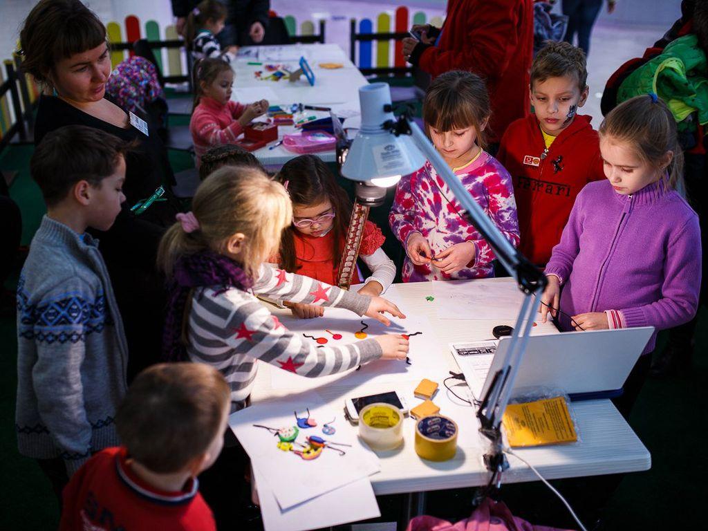 Детские творческие мастер-классы от проекта «Московское кино»