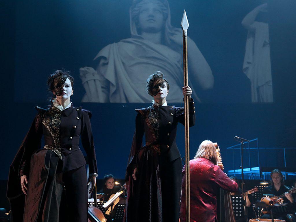 Спектакль любовь убивает в театре Сац