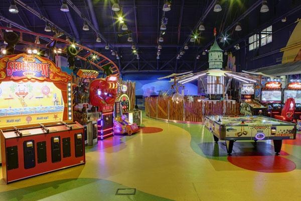 развлечения для детей ТЦ Европейский