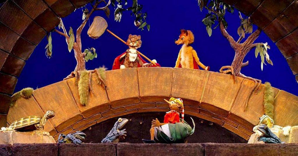 Спектакль в Театре кукол Образцова