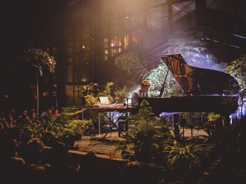 Тропический джаз концерт в Ботаническом Саду