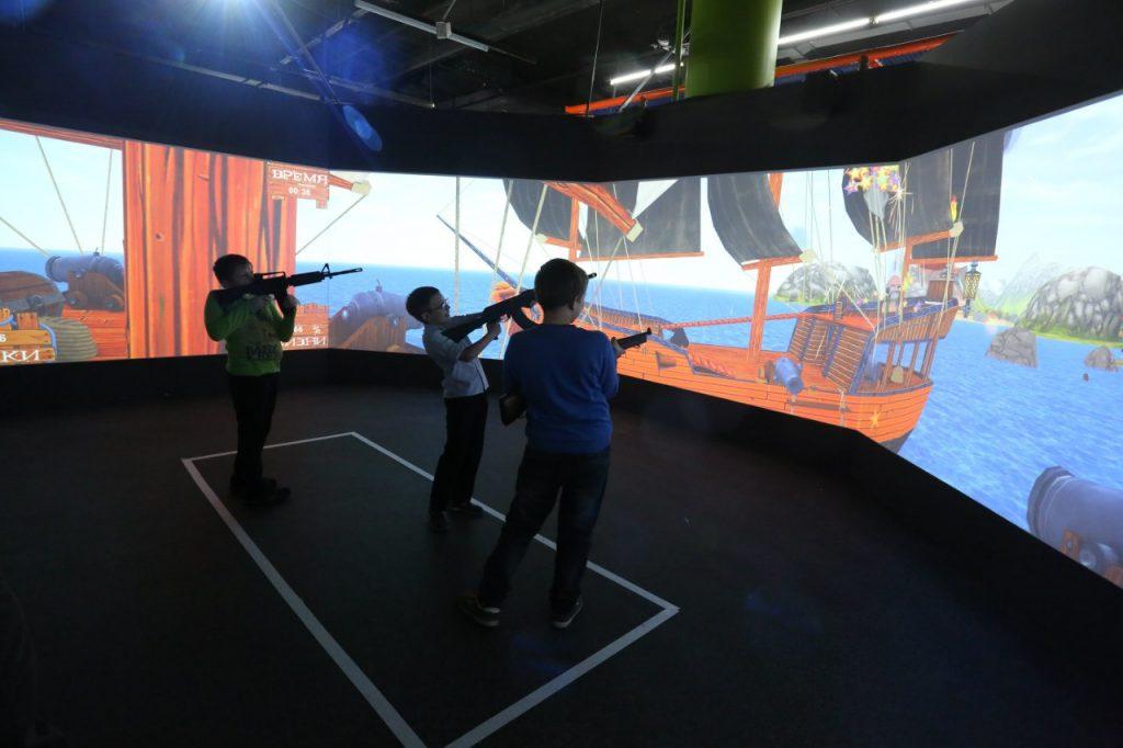 Лазерный тир «Панорама» в Игровом центре ЦЕЛЬ