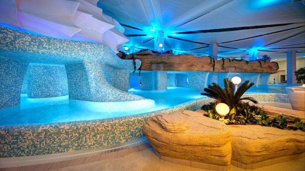банный комплекс в аквпарк мореон