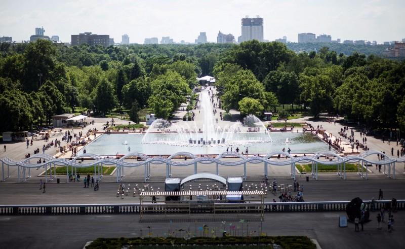 парк горького москва аттракционы детям