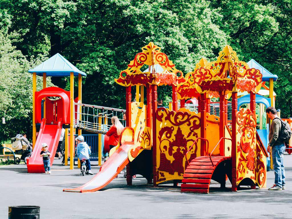 Детская площадка в Усадьбе Воронцово