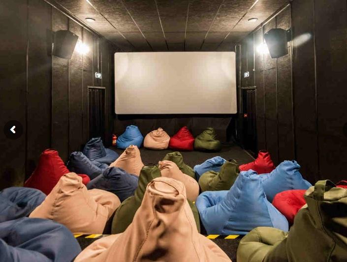 кинотеатр в парке сказка