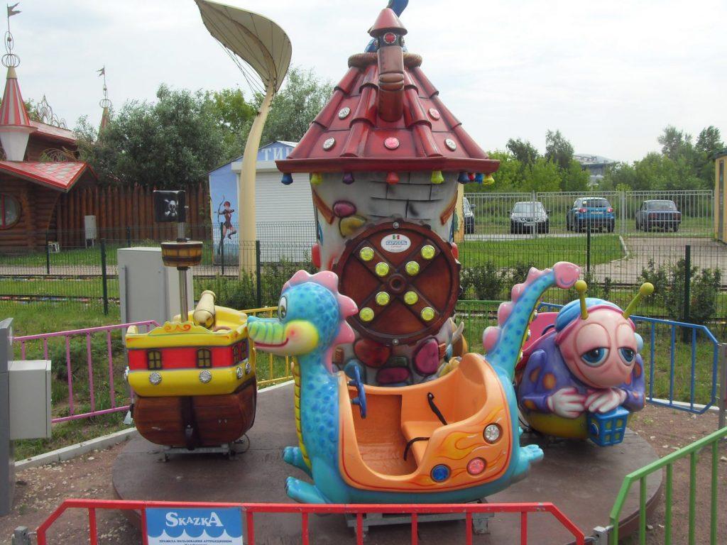 калейдоскоп парк сказка детский аттракцион