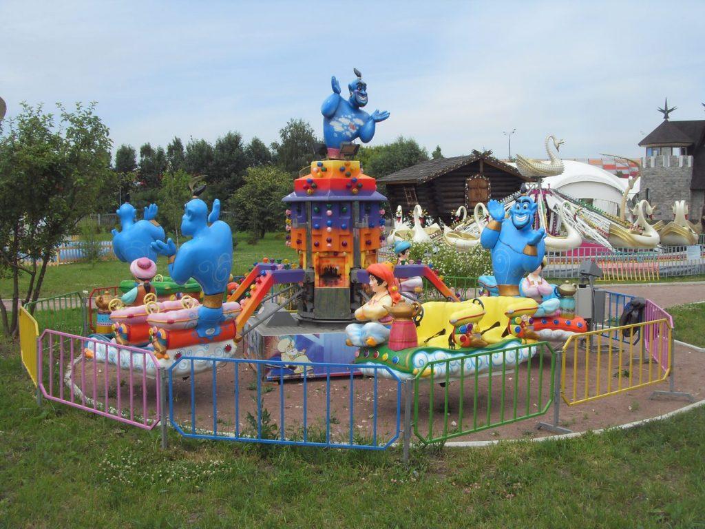 парк сказка алладин аттракцион