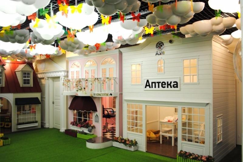 детские клубы в москве с рестораном