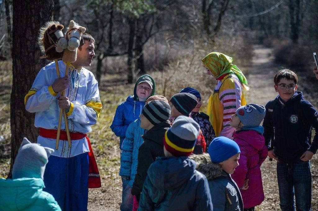 кузминский парк отдых с ребенком