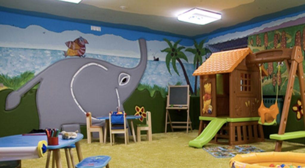 детское кафе в Москве с детской зоной