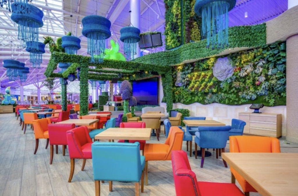 в топ лучших детских ресторанов входит монстр хилл в авиапарке