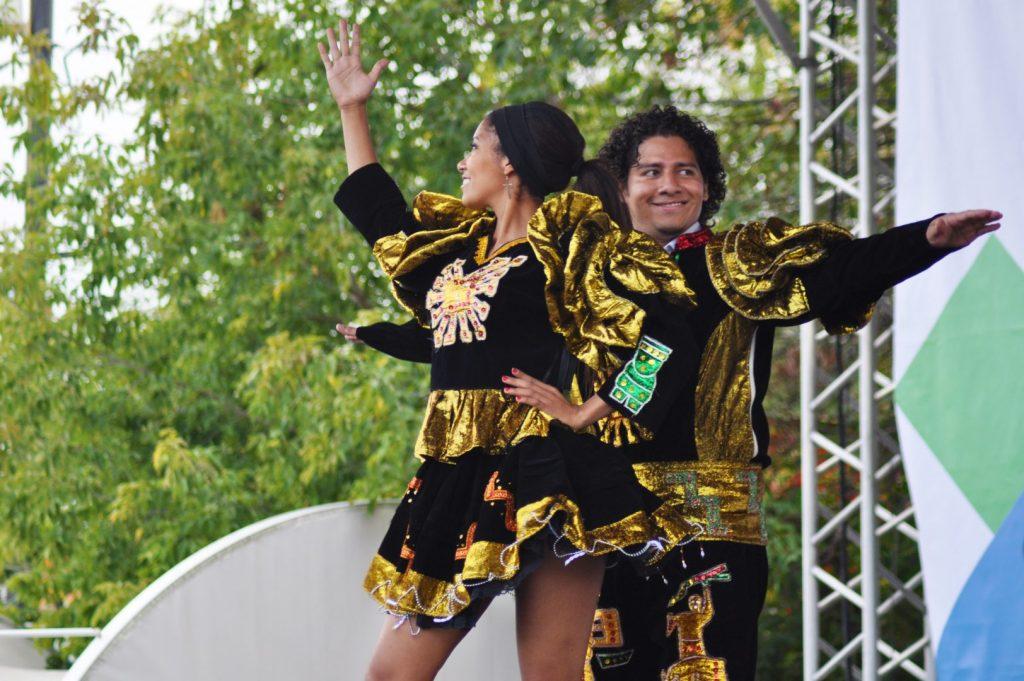Бразильский карнавал пройдет в парке