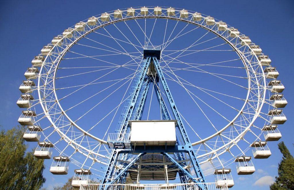 колесо обозрения в измайловском парке