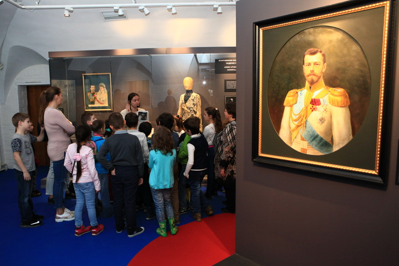 Выставка в коломенском парке