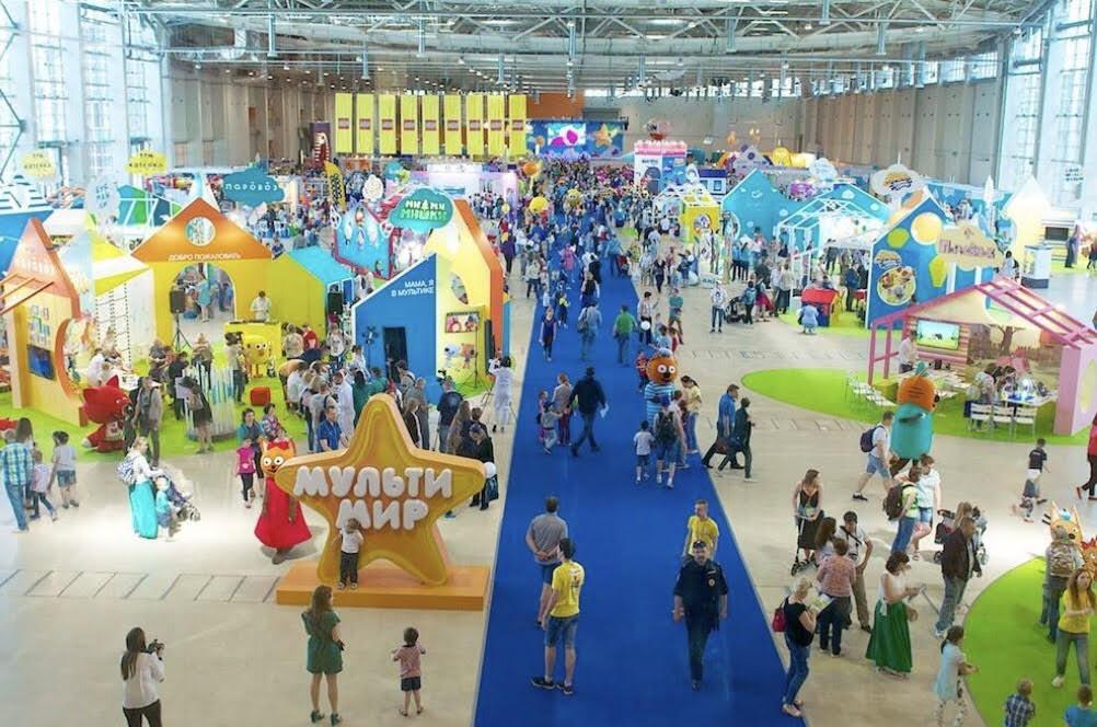 фестиваль мультимир на ВДНХ