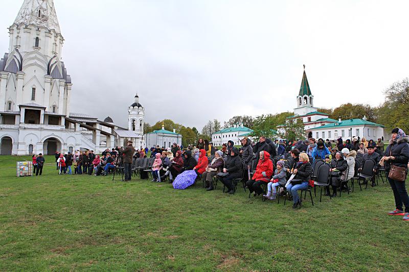 Музей заповедник Коломенское в День Победы.
