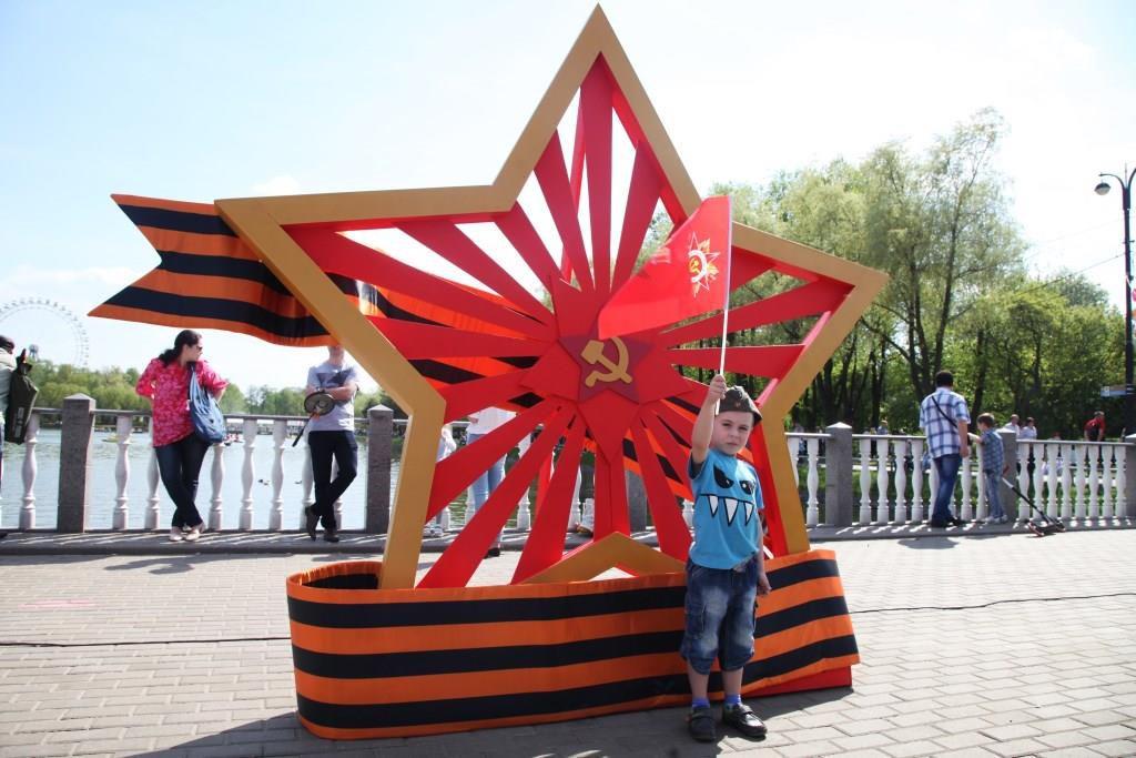 9 Мая - День Победы в Измайловском парке