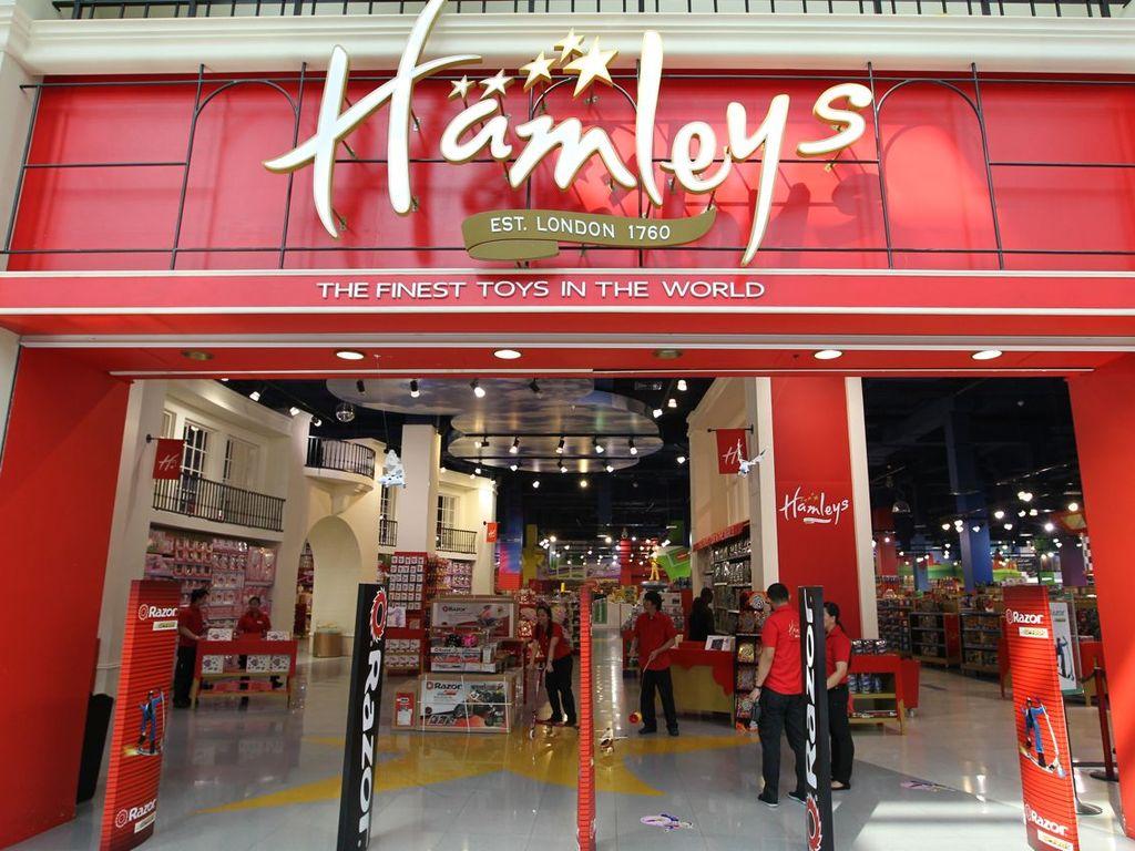 Мир Hamleys Центральный детский магазин
