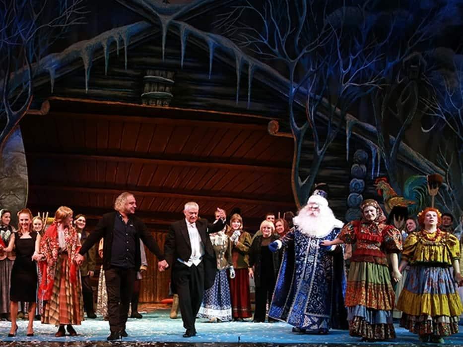Спектакль в театре имени наталии сац