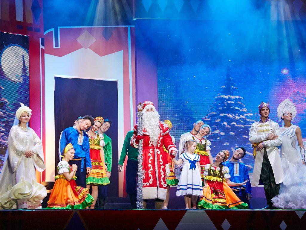 Новогоднее шоу Елены  Киселевой