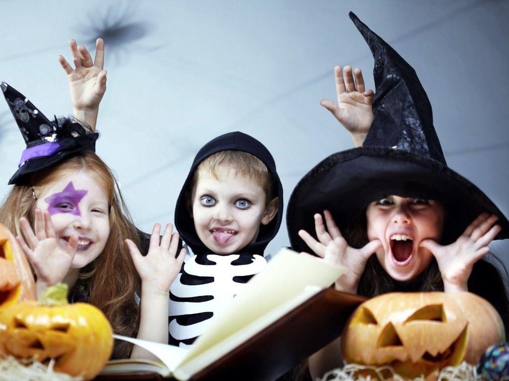 Хэллоуин для детей в Кидзании