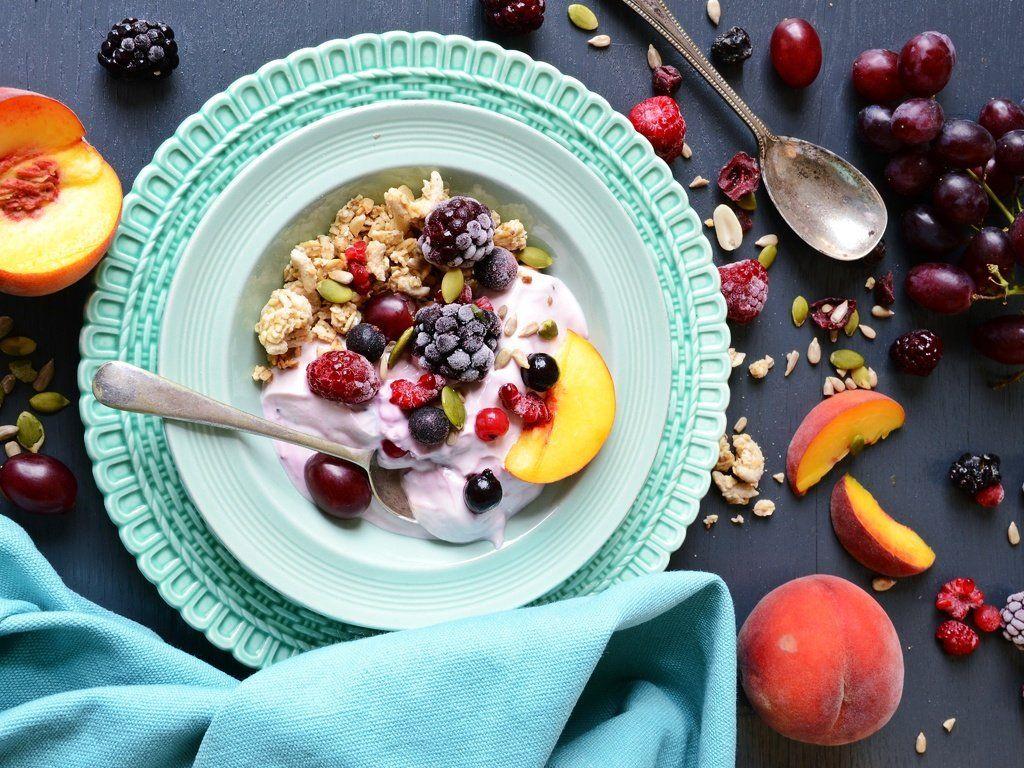 завтрак для детей - мюсли