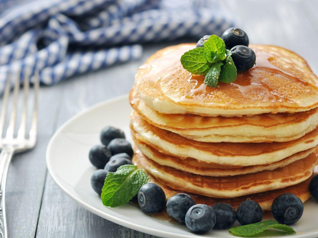 завтрак для детей - Оладьи и блины