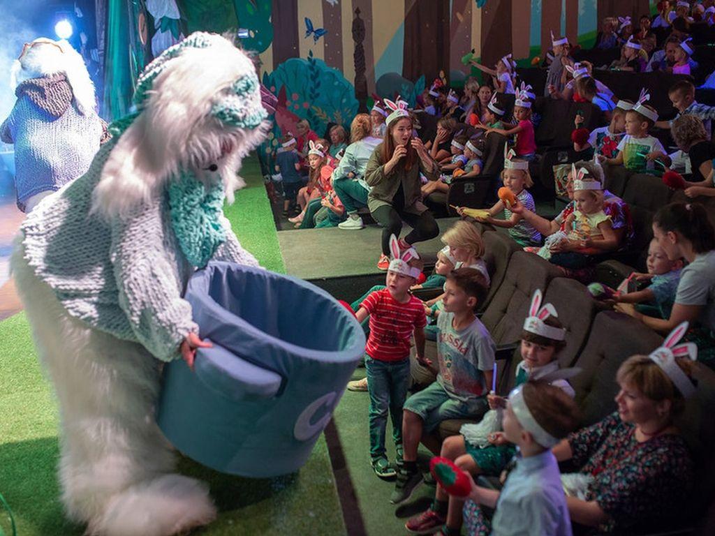 Шоу-сказка Зайцы в цирке чудес