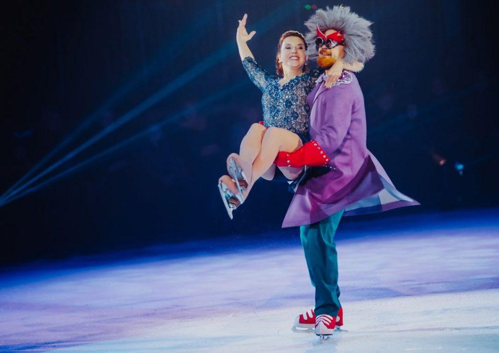 Новогоднее настроение на шоу Ирины слуцкой Фиксики на льду. Большая игра