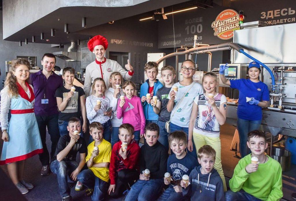 фабрика мороженного в Москва сити