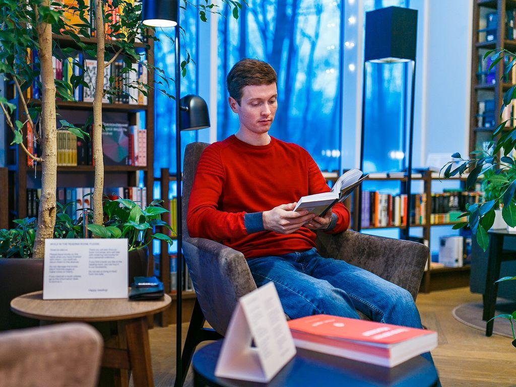 Обновленный Павильон Книги на ВДНХ уютная атмосфера