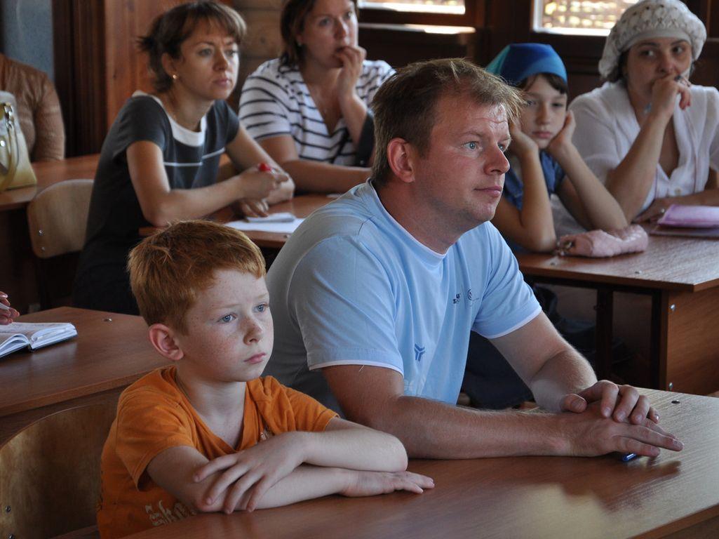 Родительское собрание, обсуждение вопросов