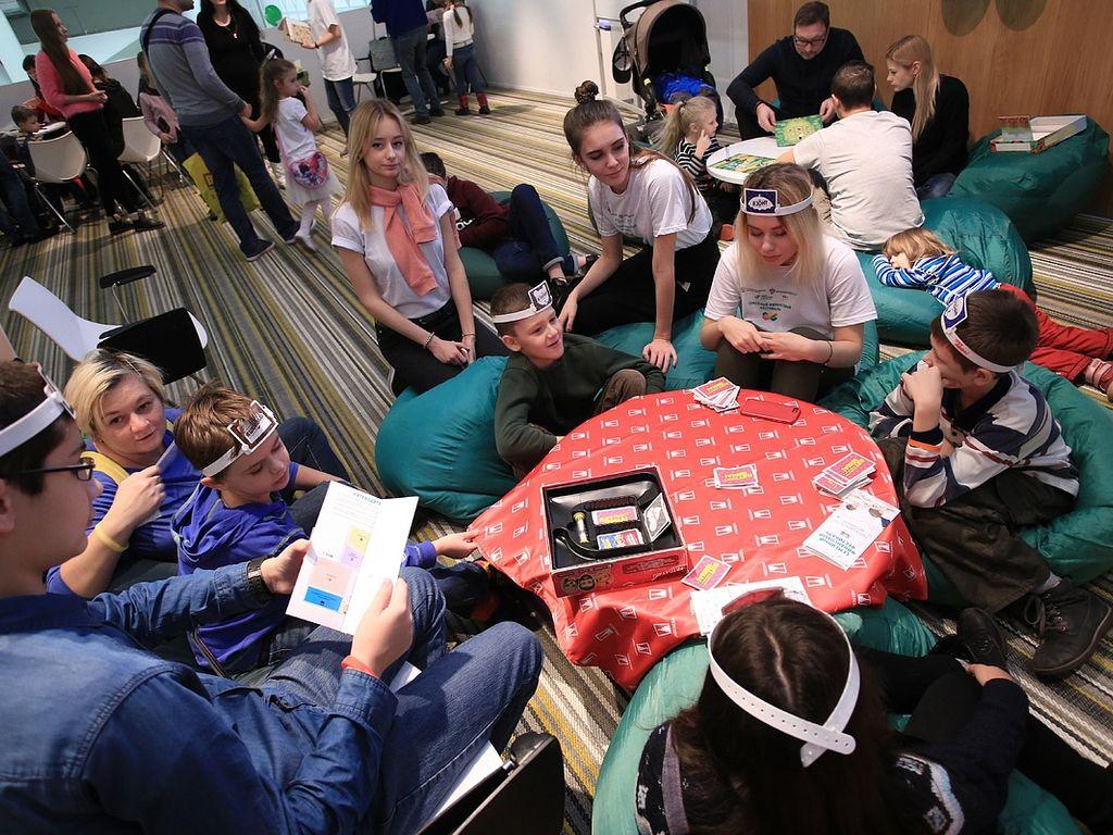 Семейный финансовый фестиваль дети играют