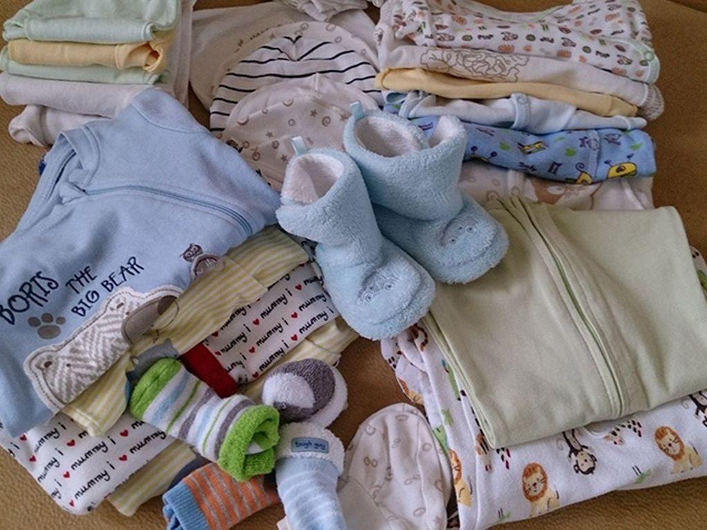 Гардероб для новорождённого из натурально материала