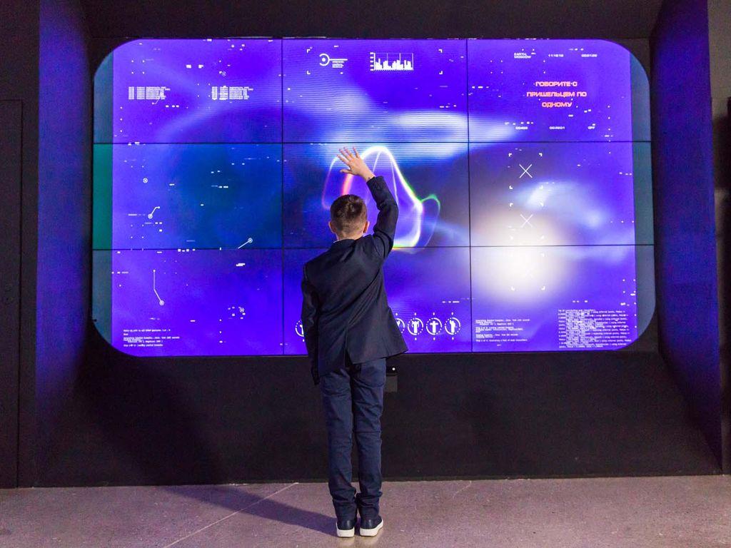 В центре «Космонавтика интерактив
