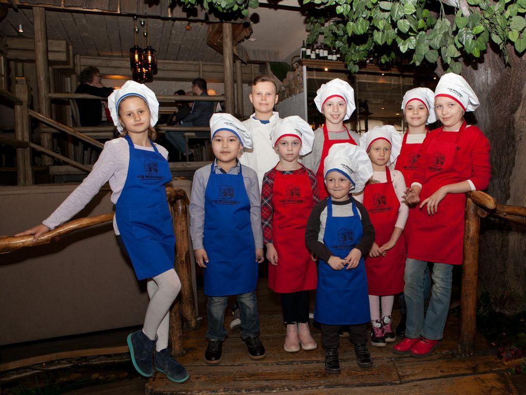 Детский кулинарный мастер-класс в ресторане На Мельнице