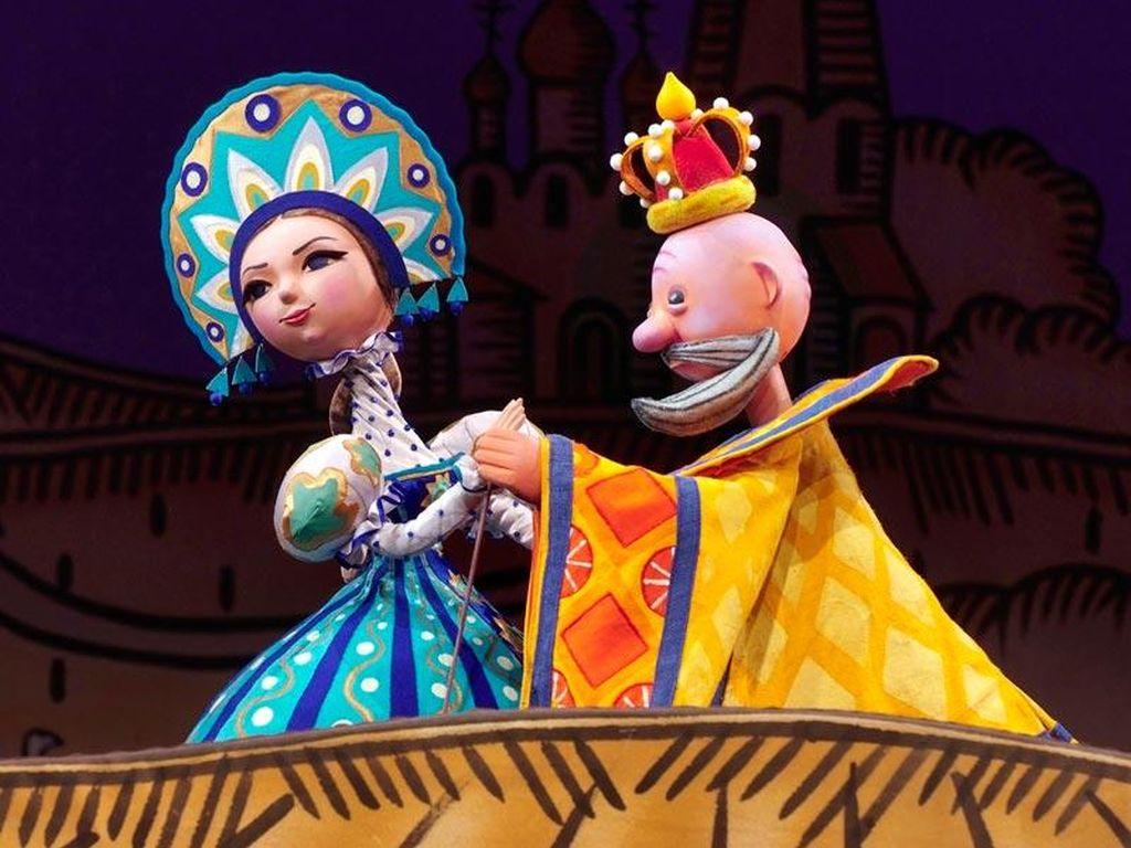 Фестиваль кукольных театров Ярмарка