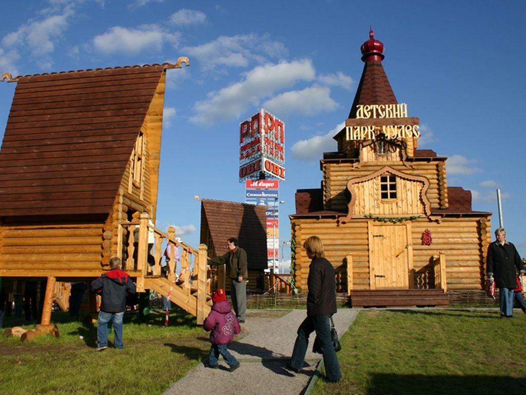 ноябрьские праздники с детьми в детском Парке Чудес