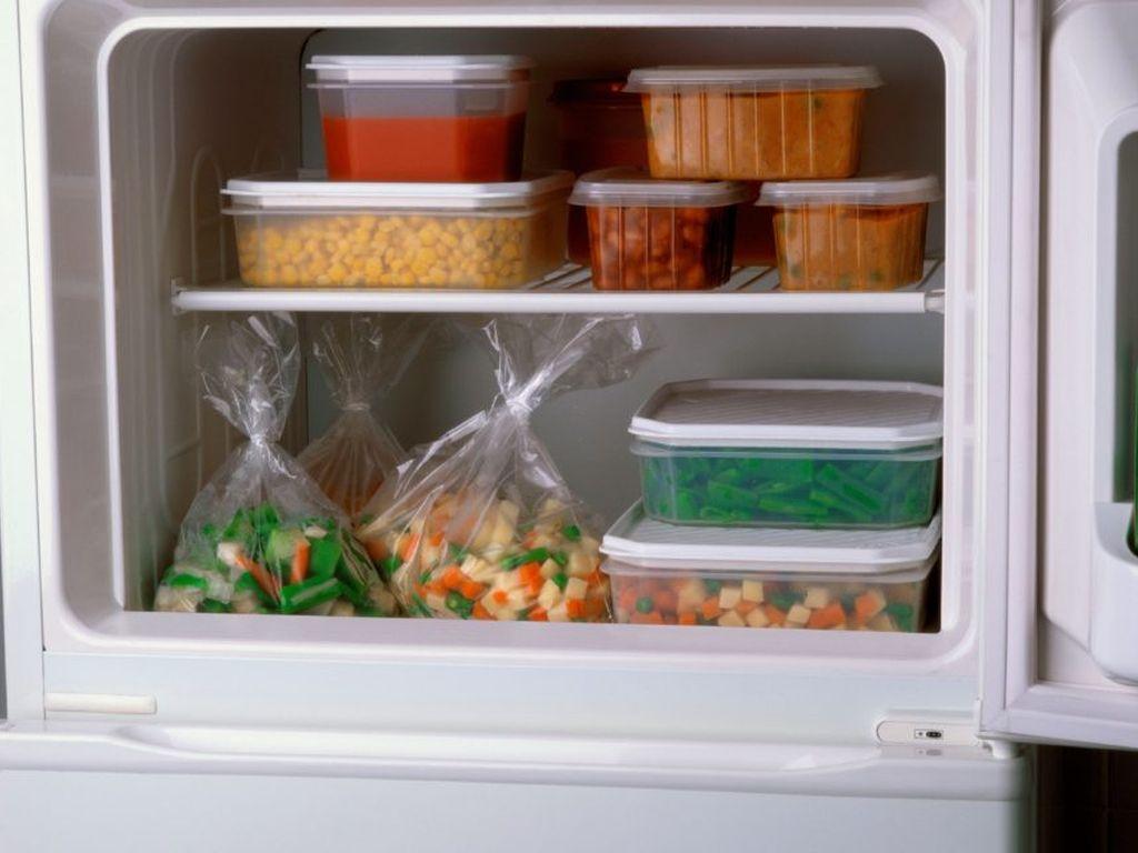 запас замороженных продуктов