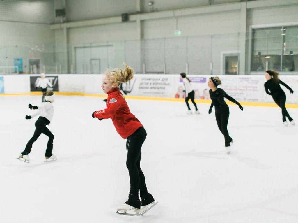 Секция фигурного катания Морозко на Арене Морозово в Москве