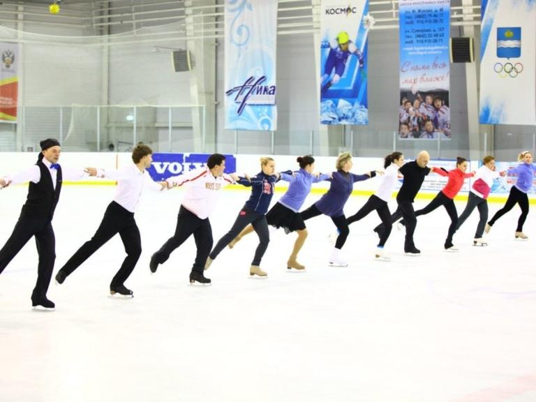 Школа фигурного катания Олимпик в Москве