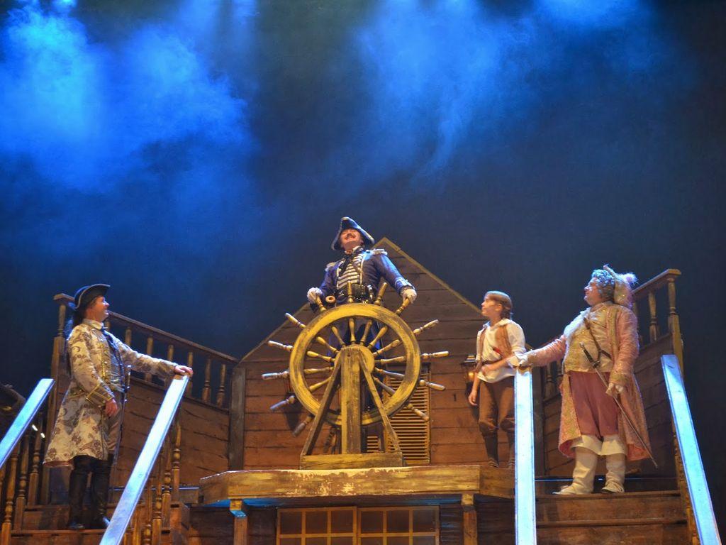 Спектакль Остров сокровищ в Доме культуры Москворечье