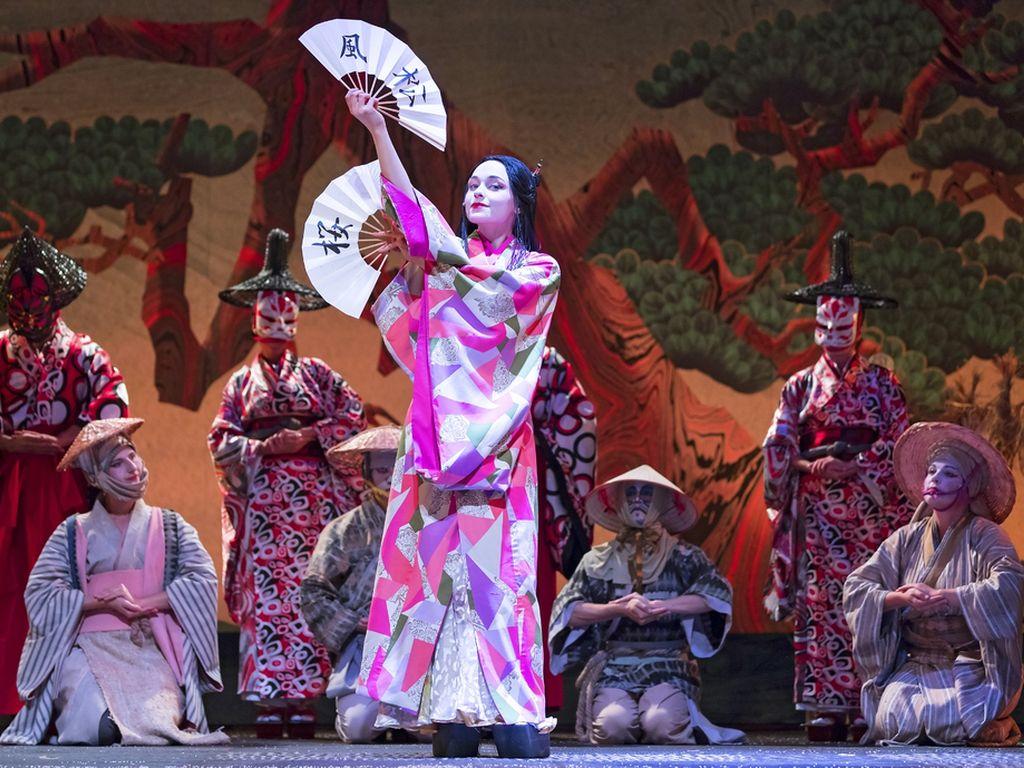Спектакль Японская сказка. Меч самурая в в Театриуме